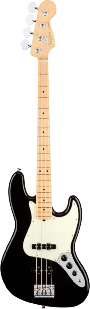 Fender American Professional Jazz Bass Black Maple